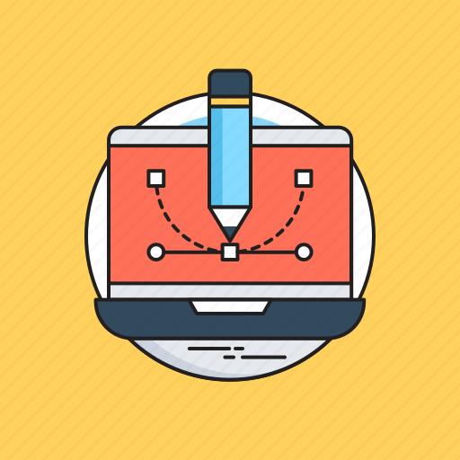 Artwork, designing, graphics, pen tool, web design icon - Download on Iconfinder