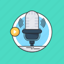 audio, entertainment, event, live event, microphone icon