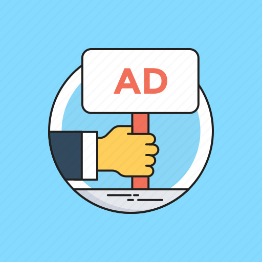 ad, advertisement, advertising, board, marketing icon
