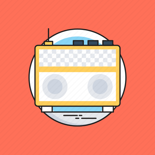 Ad, advertisement, audio, radio, radio advertising icon - Download on Iconfinder