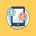 app, banking, chat bubble, m commerce, mobile banking