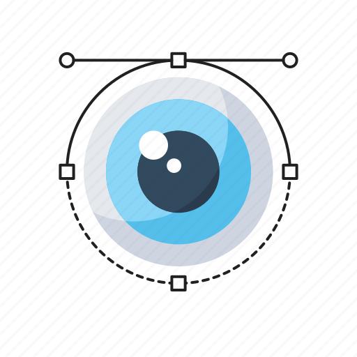 Development, eye, marketing analytics, view, visualization icon - Download on Iconfinder