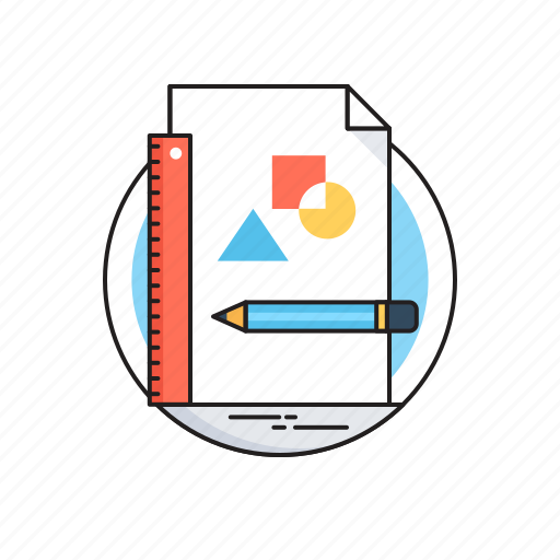 Draw, drawing, geometry, pencil, sketching icon - Download on Iconfinder