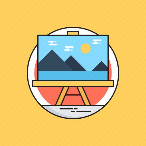 Art board, canvas, fine arts, landscape, photo icon - Download on Iconfinder