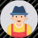 countryman, farmer, gardner, horticulturist, landscaper icon