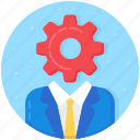 administrator, controller, director, manager, supervisor icon