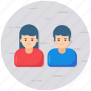 couple, dating, matrimonial, partners, relationship, spouse icon