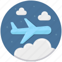 airbus, aircraft, airliner, airplane, flight, plane icon