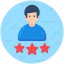 customer ratings, customer reviews, customer satisfaction, feedback, user experience icon