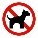 animal, forbidden, no, pet, prohibited icon