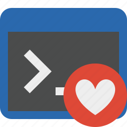 cmd, command, favorites, prompt, shell, terminal icon