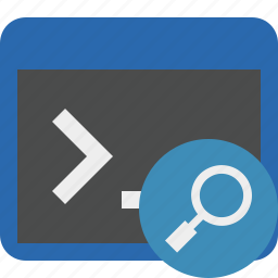 cmd, command, prompt, search, shell, terminal icon