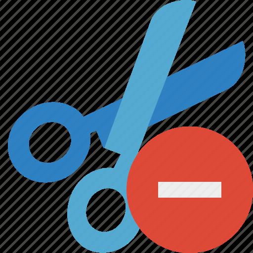 cut, scissors, stop, tools icon