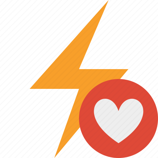 charge, energy, favorites, flash, power, thunder icon