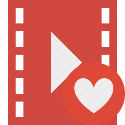 cinema, favorites, film, media, movie, video icon