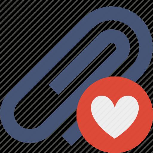 attach, attachment, clip, favorites, paper, paperclip icon