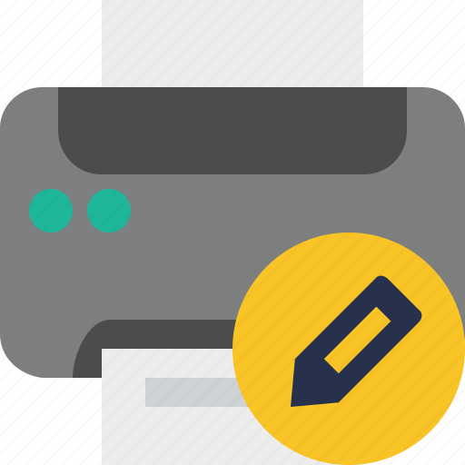 Document, edit, paper, print, printer, printing icon - Download on Iconfinder