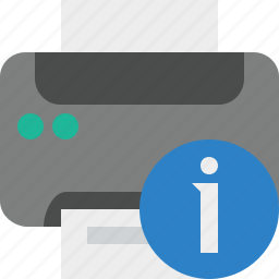 document, information, paper, print, printer, printing icon