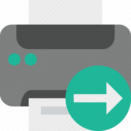 document, next, paper, print, printer, printing icon