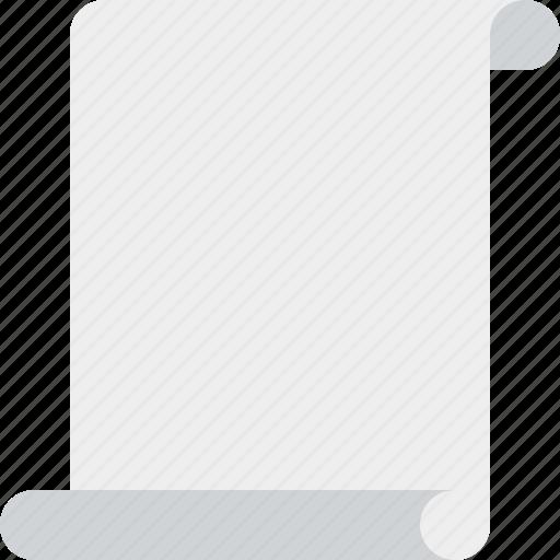 blank, code, paper, script, scroll icon