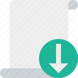 blank, code, download, paper, script, scroll icon