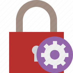 access, lock, password, protection, secure, settings icon