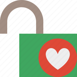 access, favorites, password, protection, secure, unlock icon