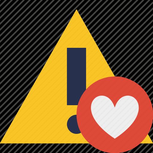 alert, caution, error, exclamation, favorites, warning icon