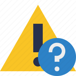 alert, caution, error, exclamation, help, warning icon