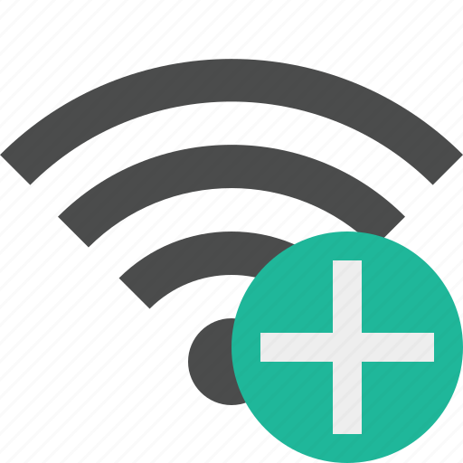 add, connection, internet, wifi, wireless icon