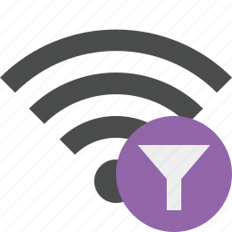 connection, filter, internet, wifi, wireless icon