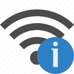 connection, information, internet, wifi, wireless icon
