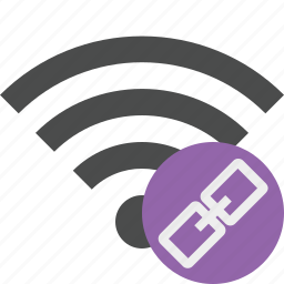 connection, internet, link, wifi, wireless icon