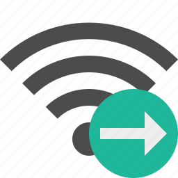 connection, internet, next, wifi, wireless icon