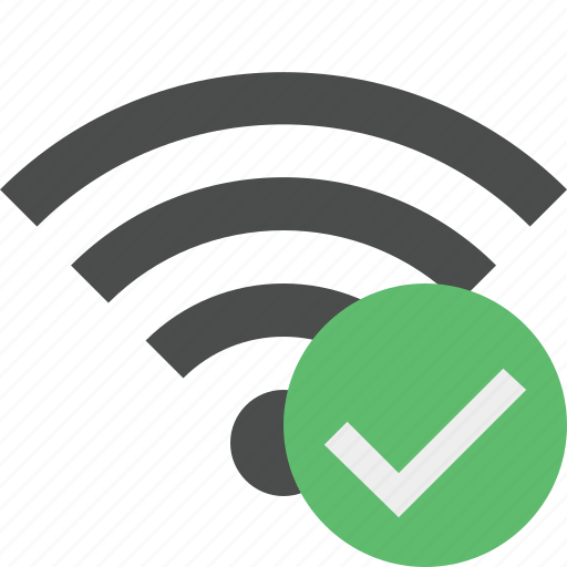 connection, internet, ok, wifi, wireless icon