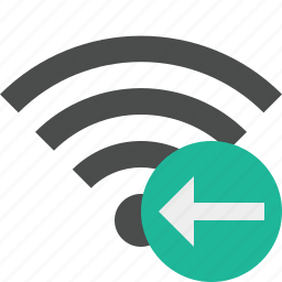 connection, internet, previous, wifi, wireless icon