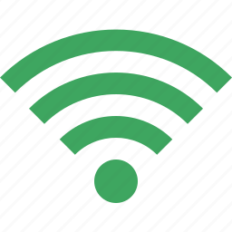 connection, green, internet, wifi, wireless icon
