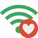 favorites, green, connection, internet, wifi, wireless