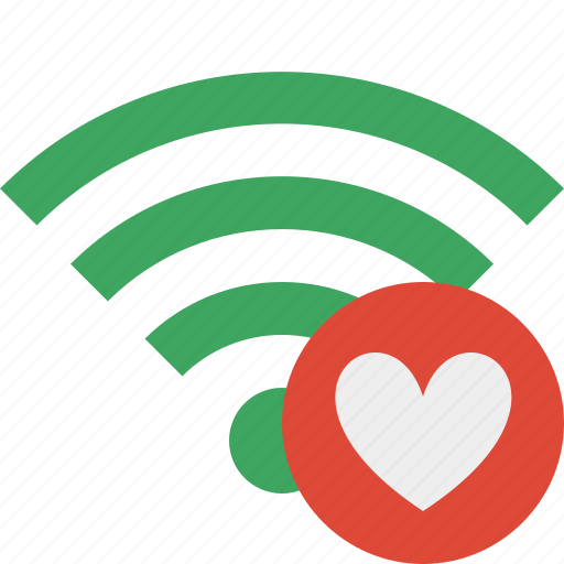 Favorites, green, connection, internet, wifi, wireless icon - Download on Iconfinder