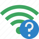 connection, green, help, internet, wifi, wireless icon