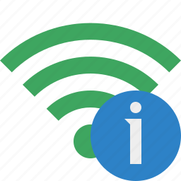 connection, green, information, internet, wifi, wireless icon