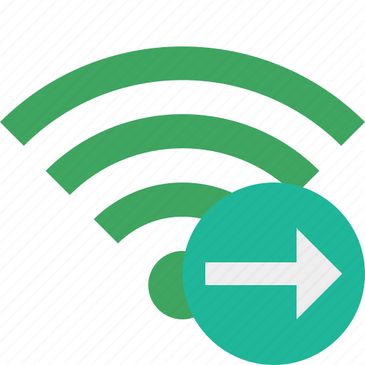 connection, green, internet, next, wifi, wireless icon
