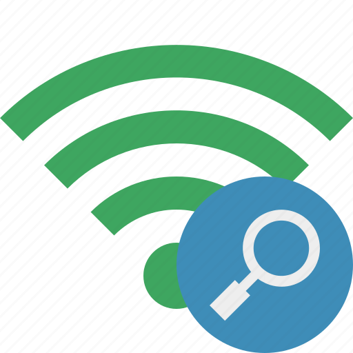 connection, green, internet, search, wifi, wireless icon