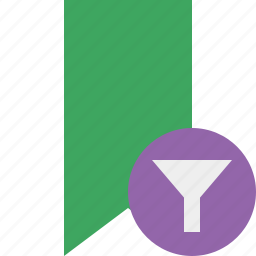 book, bookmark, favorite, filter, green, tag icon