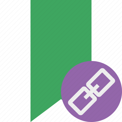 book, bookmark, favorite, green, link, tag icon