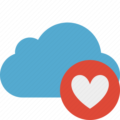 blue, cloud, favorites, network, storage, weather icon
