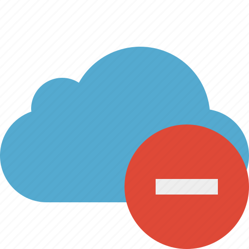 blue, cloud, network, stop, storage, weather icon