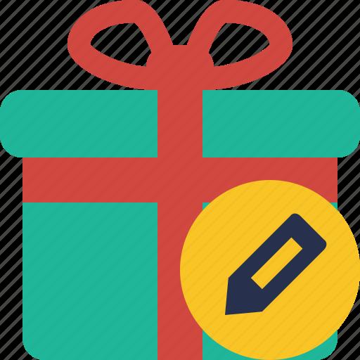 box, christmas, edit, gift, present, xmas icon