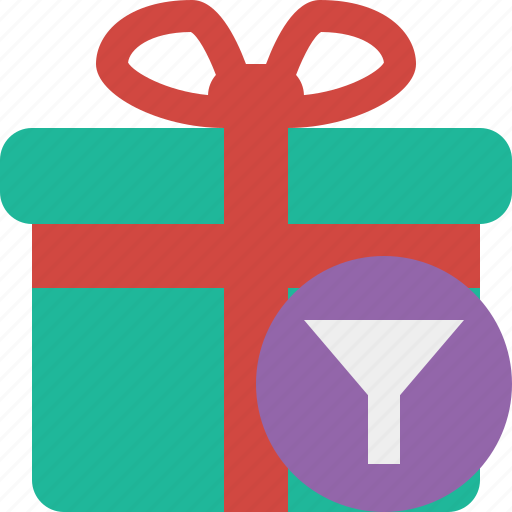 box, christmas, filter, gift, present, xmas icon