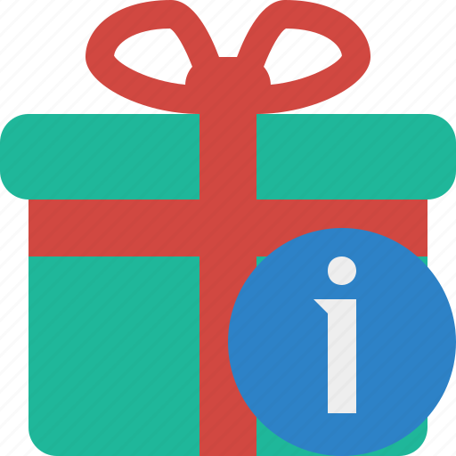 box, christmas, gift, information, present, xmas icon